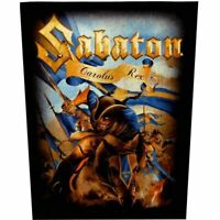 Sabaton Carolus Rex Official Giant Jacket Back Patch Heavy Metal New