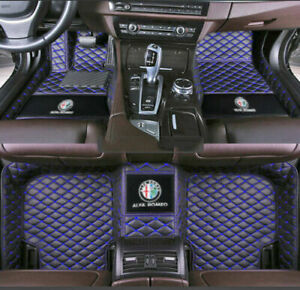 2017-2021 For Alfa Romeo-Giulia-Stelvio All-weather waterproof non-slip mat
