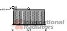 Wärmetauscher Innenraumheizung - van Wezel 03006296