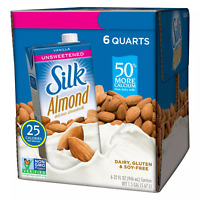 Silk Unsweetened Vanilla Almondmilk (32oz / 6pk)