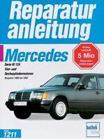Mercedes Benz 200 300 E W124 1985-1992 Reparaturanleitung Reparatur-Handbuch POD
