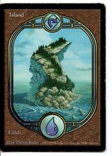 MRM FRENCH Island - Ile Played MTG magic Unighed