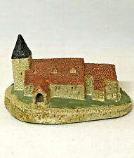 David Winter Cottages St Nicholas' Church Compton Tiny Series 1980 Early Piece