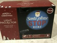 Santa Please Stop Here Light Projector- free P&P