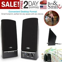 Computer Speaker Amplifier System Set Desktop Multimedia Speakers For Laptop Pc