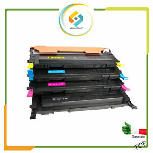 4 Toner per Samsung CLP-320 CLP 325 CLT 4072S CLX 3185 CLX 3185 FN CLX 3185 FW