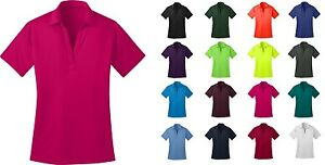 Ladies Silk Touch Dri-Fit Casual Golf Polo Short Sleeve Shirts NEW XS-4XL L540