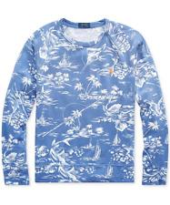 "Polo Ralph Lauren ""Blue Marlin"" Soft French Terry L/S Sweatshirt - Men's Large"