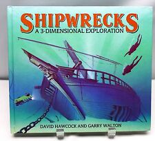 SHIPWRECKS A Three-Dimensional Exploration POP UP David Hawcock 1993 Ships Boats