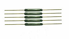 5 Stück Reedkontakt 13mm x 2mm Miniatur Reedschalter