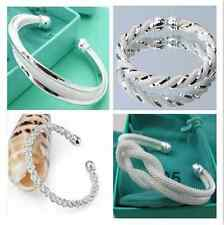 New Fashion Jewelry Wholesale Womens 925Silver Bangle/Bracelet Chain gifts