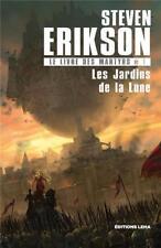 le livre des martyrs T.1   les jardins de la Lune Erikson  Steven Neuf Livre