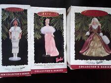 Hallmark Keepsake Ornaments~ 4 Barbie Doll -1996 Collectible- Free Shipping