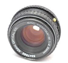 SMC Pentax-M 50 mm F2 Prime lens Fit pour DSLR