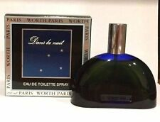 DANS LA NUIT by Worth EDT for Woman 150ml Spray VINTAGE RARE NIB
