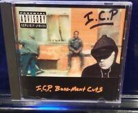 Insane Clown Posse - Basement Cuts CD inner city rare discmaskers 2nd press icp