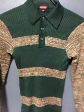 Vintage Hanes Japan Stripe T-Shirt Psychedelic Rockabilly Hippies Pullover