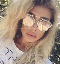 PINK Rose Gold occhiali da sole Aviator libero caso di marca guarda!!! .24