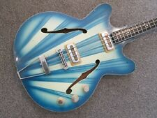Orfeus Hebros semi acoustic bass guitar - amazing looking!