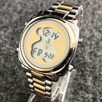New Bear Watch Stainless Steel Watch LED Digital Watch Woman's Wrist Watches
