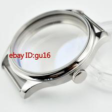 44mm Sterile Steel Watch Case fit ETA 6497,6498 seagull st36 mens watch,p726
