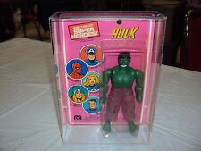 MEGO 8 INCH WORLDS GREATEST HEREOS THIS SALE IS FOR ACRYLIC CASES ONLY NO TOYS
