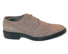 Joseph Abboud Brown Suede Wing Tip Oxfords Dress Shoes Sz 10.5 D