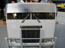 Tamiya RC 1/14 Globe Liner Semi Truck front Drop Lowrider Sun Wind Visor Plate