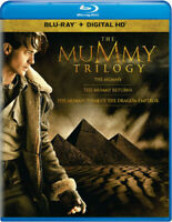 THE MUMMY TRILOGY Brendan Fraser Blu Ray + Digital HD NEW