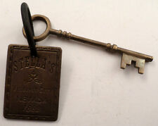 Stellas Nevada Solid Brass Western Inspired Brothel House Key Room Tag #B-40