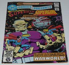 DC Comics Presents Superman & Supergirl  NO.28. Mongul Origin