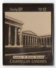 1900s Uruguay Photo Tobacco Card  Cigarrillos Londres S14 #12 The British Museum