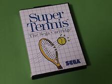 Super Tennis boxed Sega Master System cartouche de jeu-SEGA