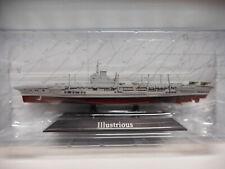 PORTAAVIONES WARSHIP HMS ILLUSTRIOUS 1940-55 1:1250 ATLAS De AGOSTINI #8