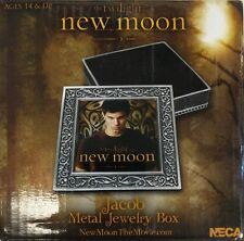 NEW NECA Jacob Metal JEWELRY BOX Twilight Saga Moon Black Wolf Pack