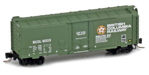 Micro Trains Z Scale British Columbia BCOL 40' Plug Door Box Car 502-00-162