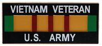 Vietnam Veteran US Army Ribbon Magnet H98041 D41