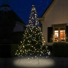 LED-Baum außen 300 cm 480 LED Single Flash warmweiß Weihnachtsbaum beleuchtet