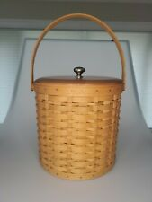 New ListingLongaberger 2003 Ice Bucket Basket Combo W/ Lid