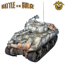 BB003 US 75mm Winter M4 Sherman Tank - 10th Armored Division by First Legion
