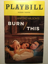 BURN THIS PLAYBILL BROADWAY APRIL 2019 NY Adam Driver Keri Russell opening night