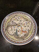 Estrela de Conimbriga Platter Portugal Hand painted By Olivia
