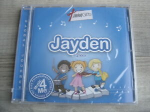 CD FOR JAYDEN * PERSONALISED * kids childrens SONGS birthday STORY gift present