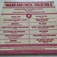Barry Mann & Cynthia Wei l: Solid Gold