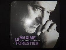 COFFRET METAL 5 CD MAXIME LE FORESTIER / LES 100 PLUS BELLES CHANSONS /
