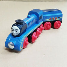 LOOSE LEARNING THOMAS WOODEN MAGNETIC TRAIN- FRIEDA + TENDER COMBINE W/ CHUGG