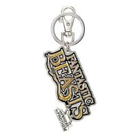 Fantastic Beasts Colored Logo Metal Keychain NEW IN STOCK