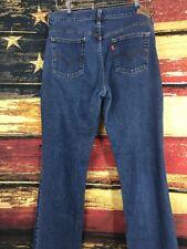 Womens Levi's 505 Straight Leg Stretch Jeans Size 12 S F316