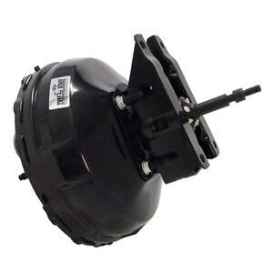 """Tuff Stuff Power Brake Booster 2232NB; 11"""" Black Powdercoat Steel Dual Diaphragm"""