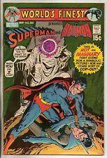 DC Comics Worlds Finest #202 May 1971 Superman & Batman VF+